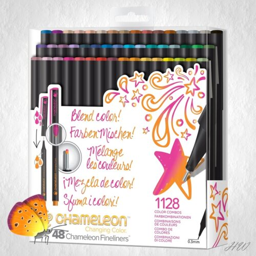 Chameleon Fineliner Brilliant Colors