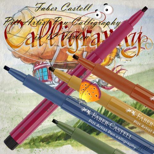 Faber Castell Pitt Artist Pen Calligraphy